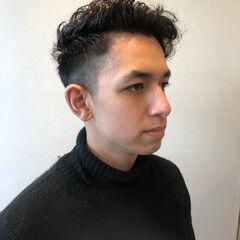 ベリーショート フェードカット ショート メンズ ヘアスタイルや髪型の写真・画像