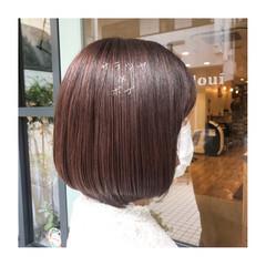 髪質改善 ショートヘア ツヤ髪 ボブ ヘアスタイルや髪型の写真・画像
