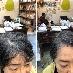 ツヤツヤ ナチュラル しっとり ショート ヘアスタイルや髪型の写真・画像