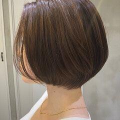 ミニボブ ベリーショート ショート ショートボブ ヘアスタイルや髪型の写真・画像