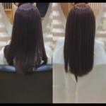 ロング 髪質改善カラー 髪質改善 鎖骨ミディアム