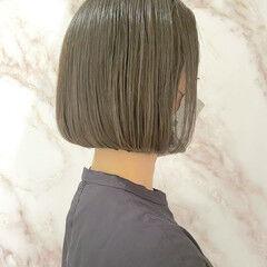 お手入れ簡単!! ナチュラル ボブ ショートボブ ヘアスタイルや髪型の写真・画像