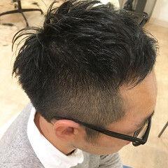 オシャレ坊主 メンズ ショート ストリート ヘアスタイルや髪型の写真・画像