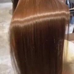 ミルクティー 透明感カラー 髪質改善 ナチュラル ヘアスタイルや髪型の写真・画像