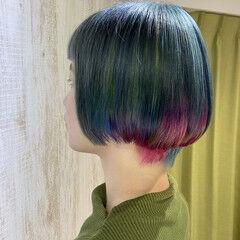 あざと フェミニン 艶髪 ボブ ヘアスタイルや髪型の写真・画像