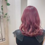可愛い ピンクパープル ピンクアッシュ ピンク