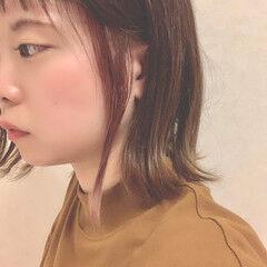 大人可愛い ピンク ナチュラル ミルクティーグレー ヘアスタイルや髪型の写真・画像