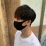 メンズ 簡単スタイリング メンズマッシュ 韓国ヘア