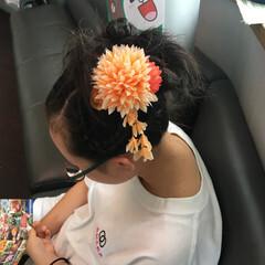 ストリート アウトドア スポーツ セミロング ヘアスタイルや髪型の写真・画像