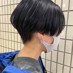 ナチュラル ショートヘア ハンサムショート ショートボブ ヘアスタイルや髪型の写真・画像