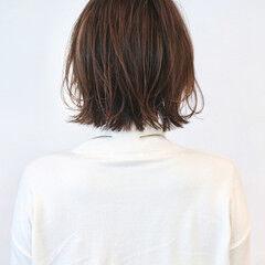 ボブ ナチュラルグラデーション グラデーションカラー ナチュラル ヘアスタイルや髪型の写真・画像