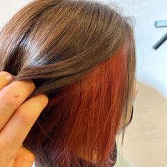 卒業式 ショートボブ ガーリー 韓国風ヘアー ヘアスタイルや髪型の写真・画像
