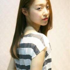 ナチュラル ロング 秋 艶髪 ヘアスタイルや髪型の写真・画像