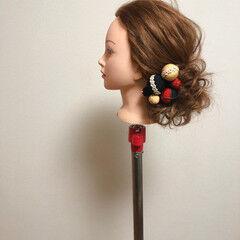 ヘアセット ブライダル ロング 和装髪型 ヘアスタイルや髪型の写真・画像