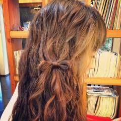 春 簡単ヘアアレンジ ヘアアレンジ ショート ヘアスタイルや髪型の写真・画像