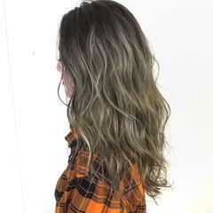 美容師ピックアップ ハイライト ロング 可愛い ヘアスタイルや髪型の写真・画像