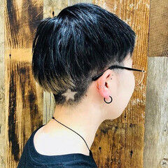 ショート ストリート ベリーショート ショートヘア ヘアスタイルや髪型の写真・画像