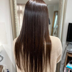 縮毛矯正 髪質改善トリートメント 髪質改善カラー 脱縮毛矯正 ヘアスタイルや髪型の写真・画像