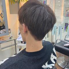 メンズカット ピンクアッシュ メンズショート メンズスタイル ヘアスタイルや髪型の写真・画像