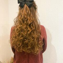 フェミニン 結婚式 ヘアセット ヘアアレンジ ヘアスタイルや髪型の写真・画像