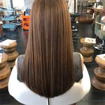 ロング 髪質改善 エレガント 髪質改善トリートメント