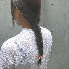 ガーリー 秋 ヘアアレンジ 冬 ヘアスタイルや髪型の写真・画像