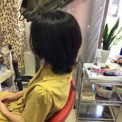 エレガント ウルフレイヤー マッシュウルフ ショートボブ ヘアスタイルや髪型の写真・画像