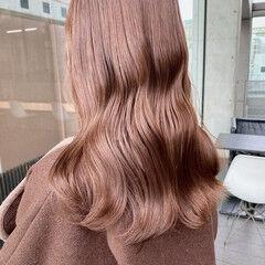 ミルクティーベージュ ミルクティー ナチュラル 艶髪 ヘアスタイルや髪型の写真・画像