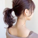 イルミナカラー アンニュイほつれヘア 小顔 髪質改善トリートメント
