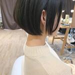 ショートヘア インナーカラー ナチュラル ショートボブ