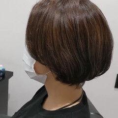 マッシュショート エレガント マッシュヘア ショートボブ ヘアスタイルや髪型の写真・画像