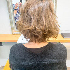ボブ ミニボブ ショートヘア アッシュグレー ヘアスタイルや髪型の写真・画像