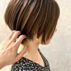 ショートヘア 束感 ショート ショートボブ ヘアスタイルや髪型の写真・画像
