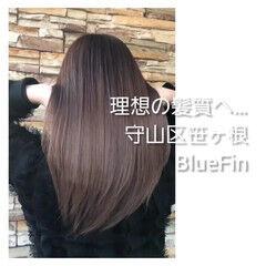 名古屋市守山区 髪質改善 ナチュラル トリートメント ヘアスタイルや髪型の写真・画像