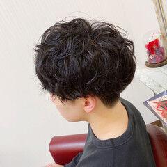 メンズマッシュ メンズ ナチュラル ショート ヘアスタイルや髪型の写真・画像