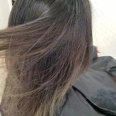 派手髪 エレガント ストカール ロング ヘアスタイルや髪型の写真・画像