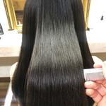 髪質改善トリートメント ロング 髪質改善 髪質改善カラー
