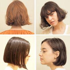 30代 大人ショート まとまるボブ 40代 ヘアスタイルや髪型の写真・画像