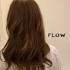 ナチュラルブラウンカラー ナチュラル 巻き髪 ロング ヘアスタイルや髪型の写真・画像