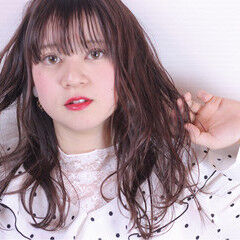 愛され ガーリー アンニュイ ゆるふわ ヘアスタイルや髪型の写真・画像