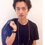 ボーイッシュ パーマ モテ髪 黒髪
