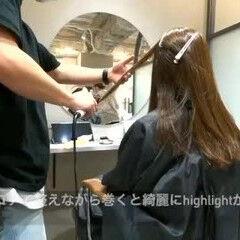 ナチュラル インナーカラー ショートボブ セミロング ヘアスタイルや髪型の写真・画像