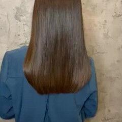フォルムコントロールプレックス髪質改善 ナチュラル 髪質改善安達瞭 髪質改善カラー ヘアスタイルや髪型の写真・画像