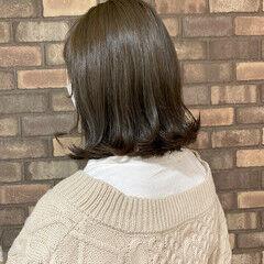 ボブ 透明感 イルミナカラー N.オイル ヘアスタイルや髪型の写真・画像
