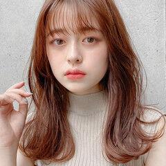 ナチュラル モテ髮シルエット アンニュイほつれヘア デジタルパーマ ヘアスタイルや髪型の写真・画像