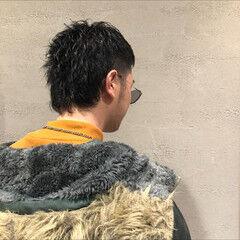 ニュアンスヘア ウルフ ベリーショート かっこいい ヘアスタイルや髪型の写真・画像