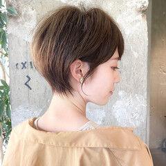 ショート エレガント ショートヘア 丸みショート ヘアスタイルや髪型の写真・画像