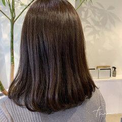 デジタルパーマ ロング ナチュラル 毛先パーマ ヘアスタイルや髪型の写真・画像