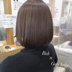 ボブヘアー ナチュラル ボブ まとまるボブ ヘアスタイルや髪型の写真・画像