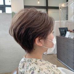 ハンサム 大人ショート ベリーショート ショートヘア ヘアスタイルや髪型の写真・画像